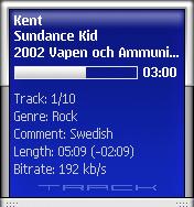 Track info